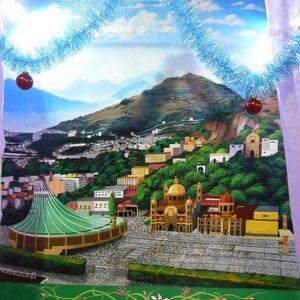 Mural de basílica de guadalupe