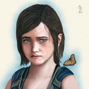 Ellie Last of Us Art
