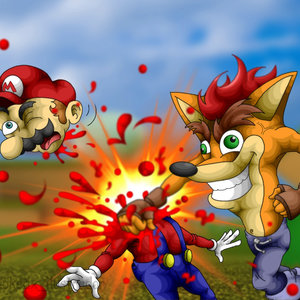 Crash Bandicoot (Fatality)