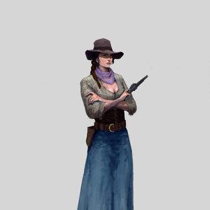 practica personajes western
