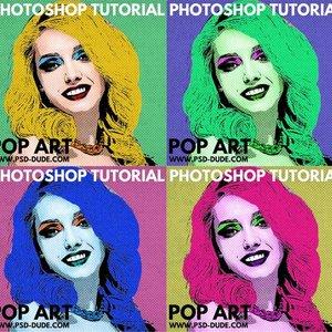 Efecto Pop Art en Photoshop