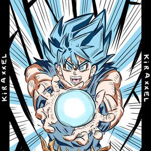 Goku SSB!