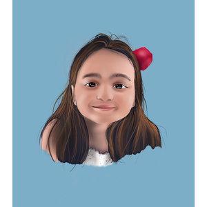 Digital Portrait.