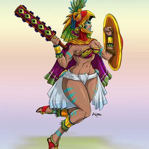 Guerrera Azteca