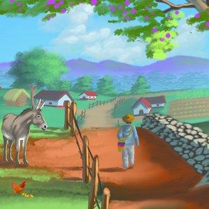 Caminando al ranchito