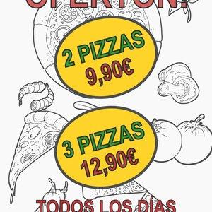 Cartel para pizzeria