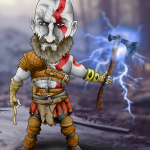 Kratos (God of War PS4)