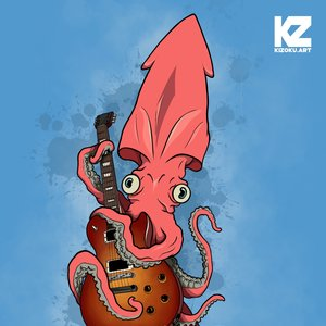 Gibsquid Les Paul (@KizokuART)