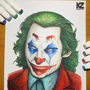 Joker (Joaquin Phoenix) (@KizokuART)
