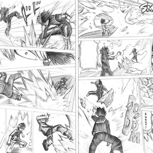 Boku no Hero Academia - Deku vs Todoroki