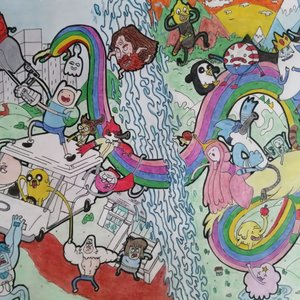 Regular Show / Adventure Time (Crossover)