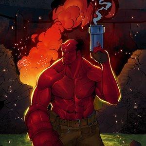 Hellboy -AntonioDiaz