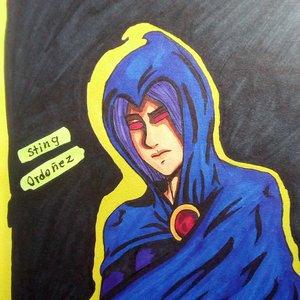 Fantober día 6 Raven (Teen Titans)