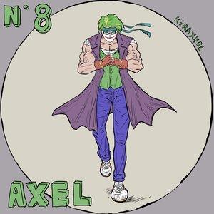 N 8 Axel!! de Street of Rage!