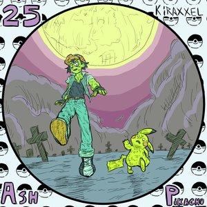 N25 ASH y PIKACHU! fantober2020
