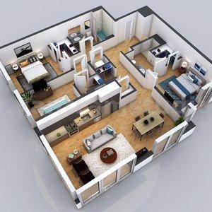 Plano_residencial_en_3D_con_edificio_de_apartamentos_de_2_dormitorios_de_la_firma_de_model_452614.jpg