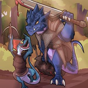 DnD Warhammer inspired Lizardmen