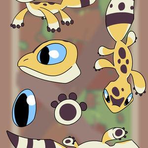 Gecko CHARACTER SHEET