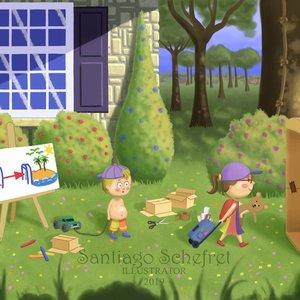 El viaje - ilustración infantil