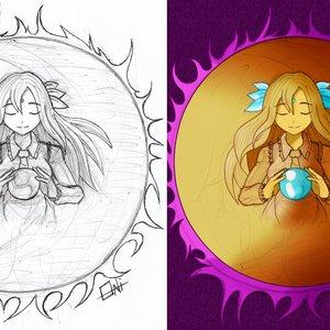 Kikuri (Touhou Fan art)
