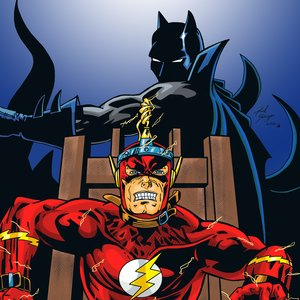 Fan Art de Flash y Batman - Flashpoint