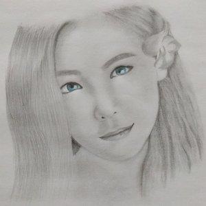 Dibujando a taeyeon