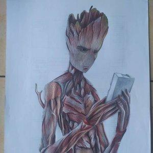Groot -  Dibujos Marvel