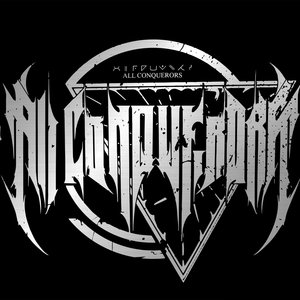 Logo for ALL CONQUERORS ALIEN DEATH METAL FRANCE.
