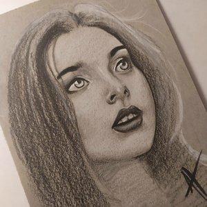 Boceto en negro