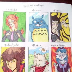 Six fan art challenge