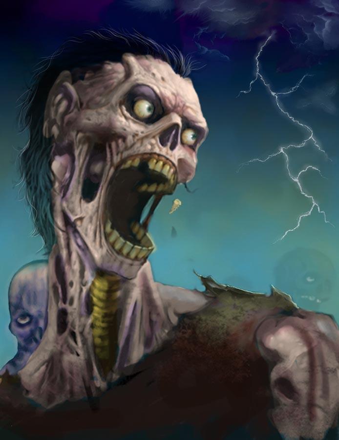 Zombies Por Royalfiery Dibujando