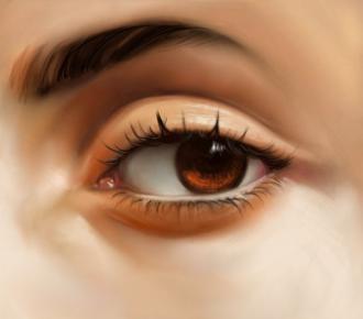 Pintando un ojo en gimp dibujando for Como pintar un ojo