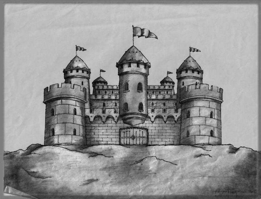 castillo por cristalex  Dibujando