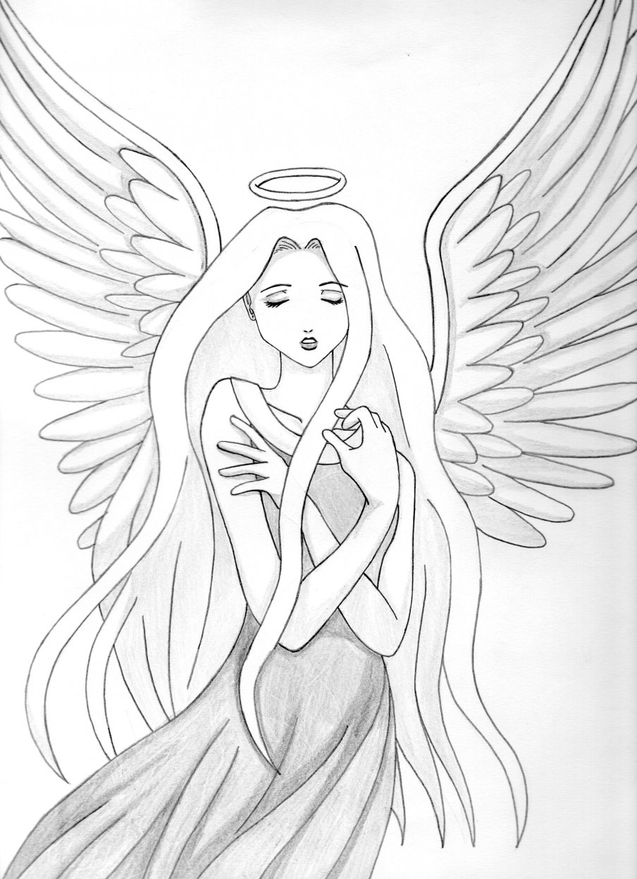 Angel por MokaTenjou | Dibujando