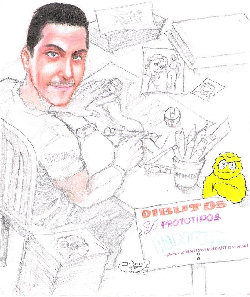 homero dibujante de dibujos y prototipos ponce por ...