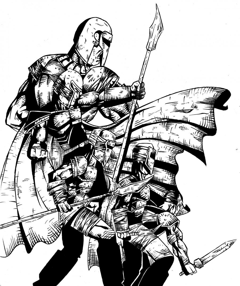 Guerreros Medievales Por Rolob Dibujando