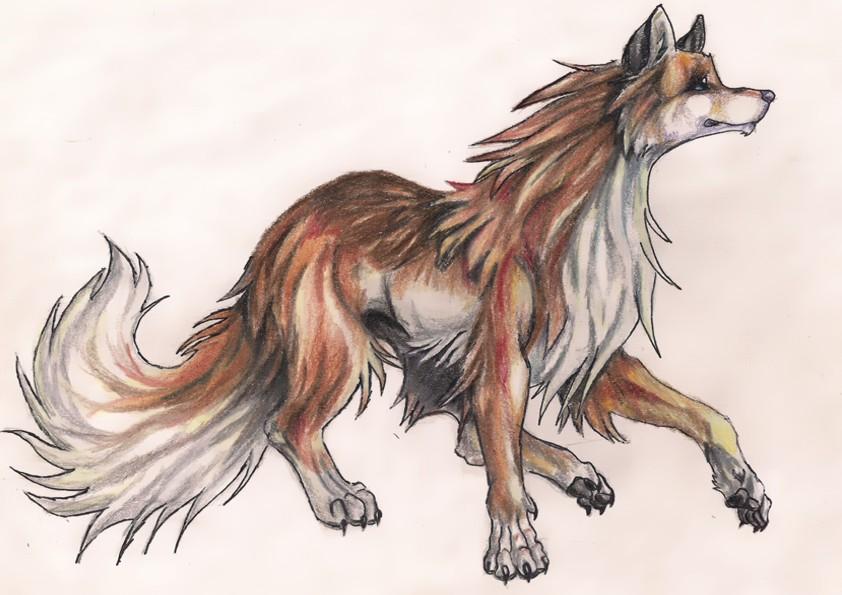 Lobo Perro Por Demoniobodrio Dibujando