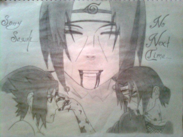 Itachi Vs Sasuke - Imágenes de Animación en Fan Art | Dibujando