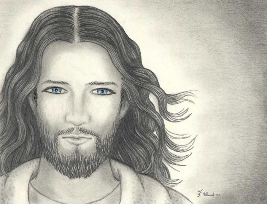 Dibujo Del Rostro De Jesus