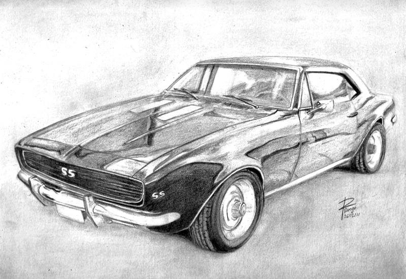 Dibujos de carros camaro ss - Imagui