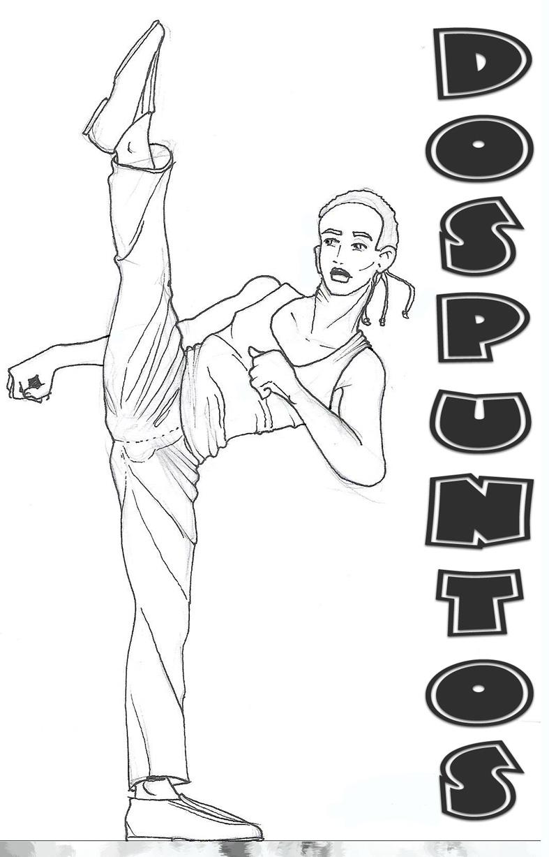 karate kid por dospuntos  Dibujando