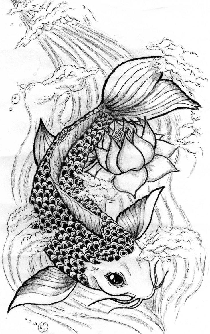 Pez Koi por Alanssj15 | Dibujando