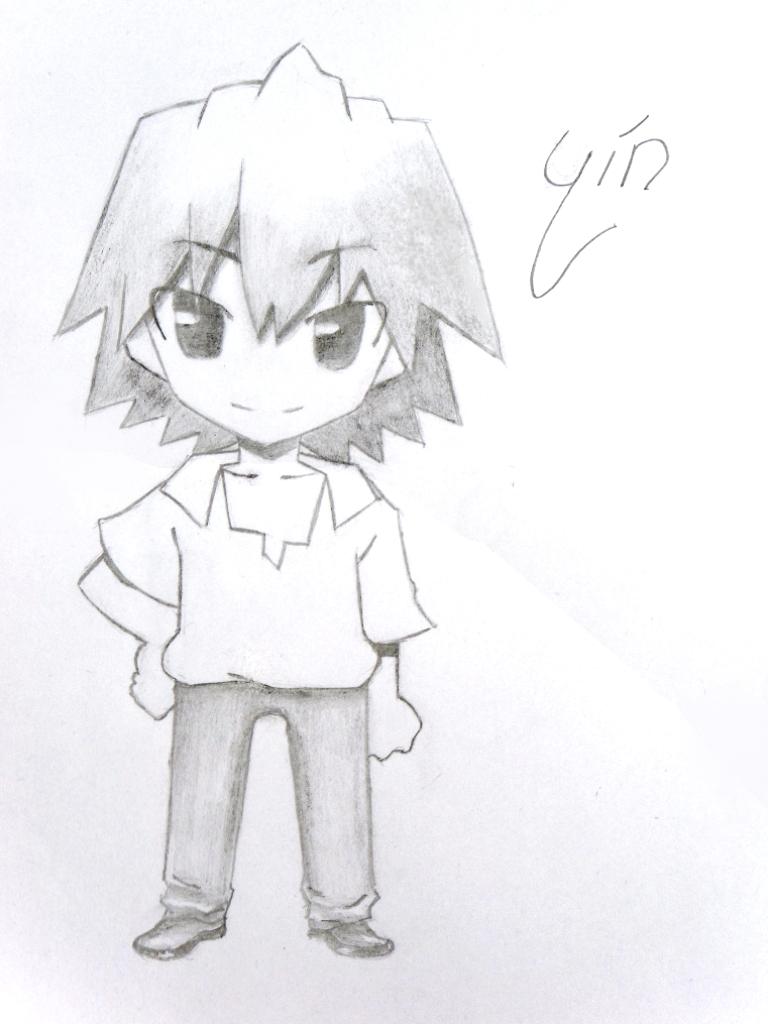 Kaworu Chibi Por Angelus Dibujando