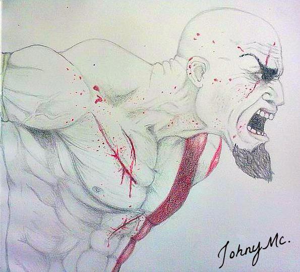 Kratos Por Eusebioni Dibujando