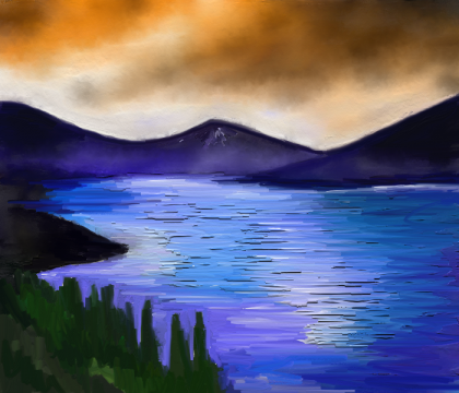 Imagenes de lagunas para dibujar imagui for Como hacer una laguna