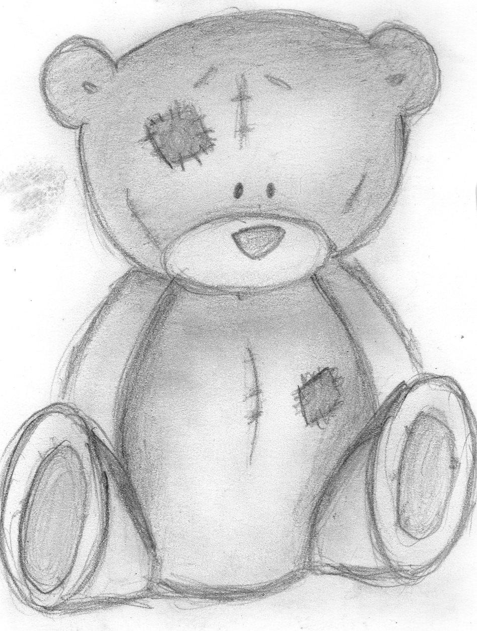 Dibujos a lapiz de ositos imagui - Dibujos de peluches ...