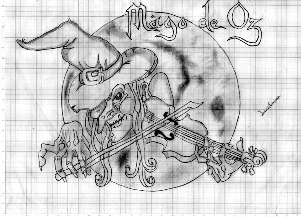 mago de oz por jhoniersanchez  Dibujando