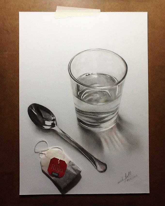 Practicando Dibujo 3d Por Isabel Mr Dibujando