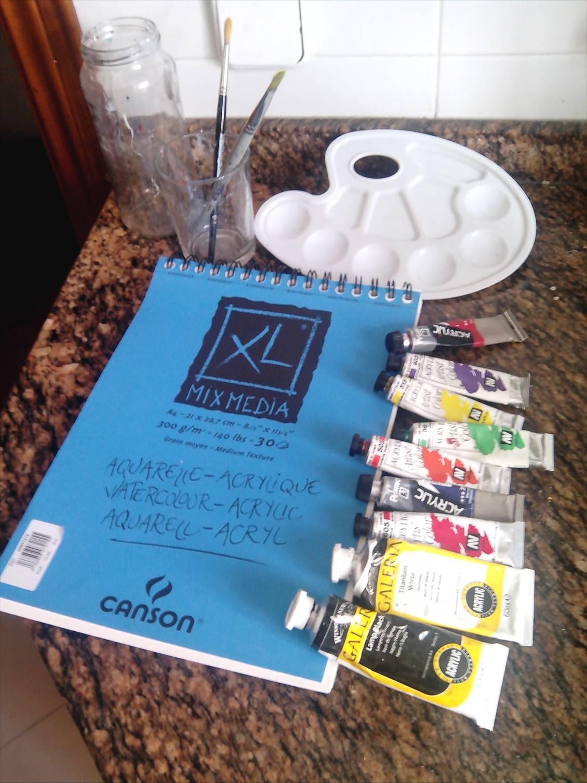 Pintar cuadros partiendo de cero i materiales por maria26 - Materiales para pintar ...