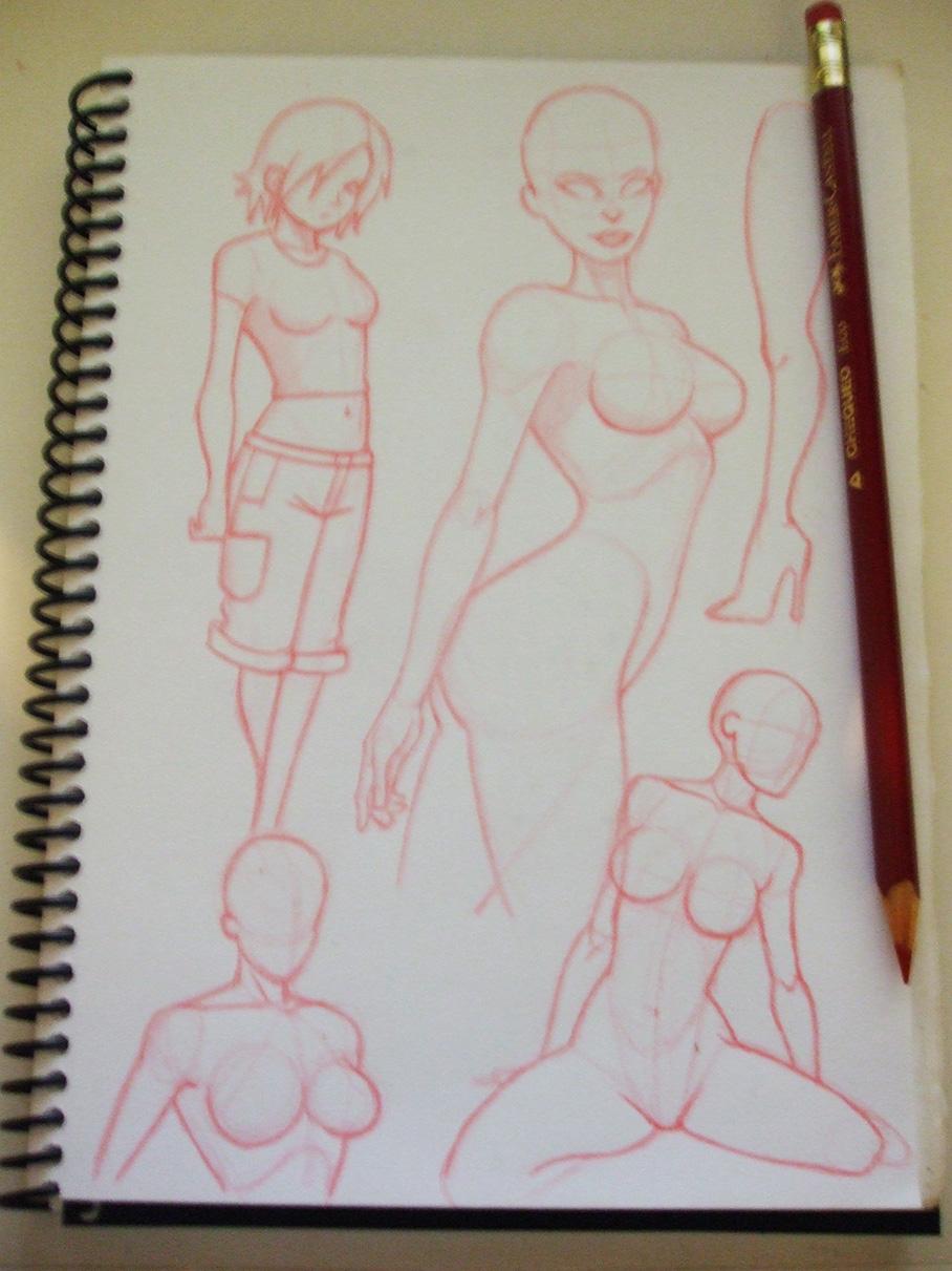 Practica cuerpo femenino por MANUARTS | Dibujando